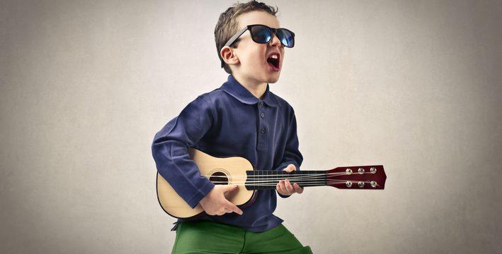 Barns val av musik